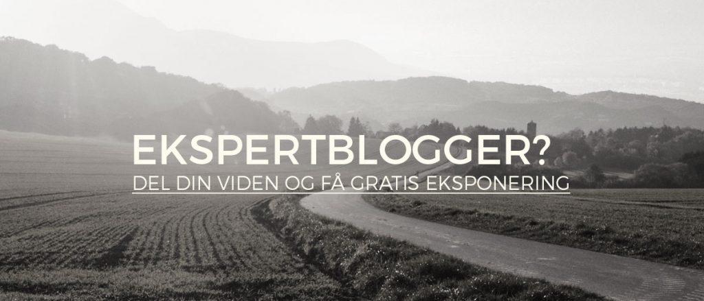 bliv-ekspertblogger
